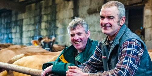 Geoff Pye and Gareth Brolly