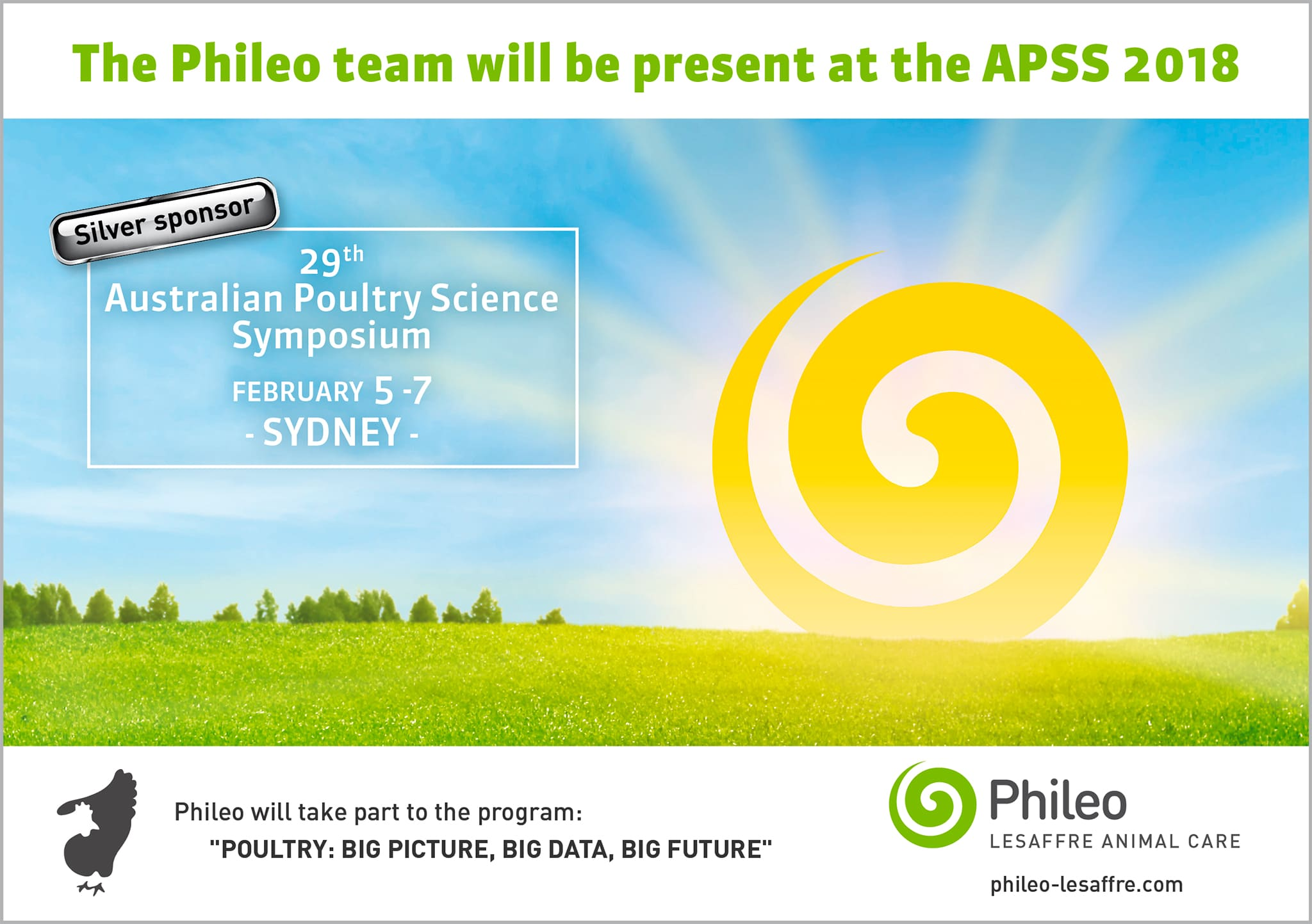 The Phileo will be present at the APSS 2018